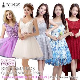 Bridesmaids Dresses Quinceanera Dresses Mini Party Dresses Lace Dresses Short Dresses Cocktail Dress