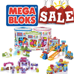 Mega Bloks First Builders/Junior Builders Thomas/ Barbie/ Numbers/ Alphabets