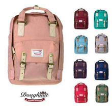 【Doughnut SCHOOL BAGS】Canvas Fashion 100% authentical Nylon Canvas Backpack// Sling Bag/ handbag