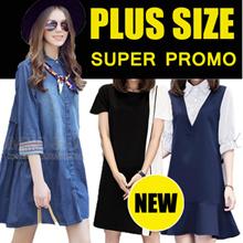 3 Days Until 28/5 SuperSales! 【17/5】600+ style S-7XL NEW PLUS SIZE FASHION LADY DRESS OL work dress