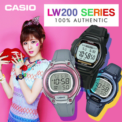 [CHEAPEST PRICE IN SPORE] *CASIO GENUINE* LW200 SERIES! Free Shipping and 1 year warranty! Deals for only Rp199.000 instead of Rp199.000