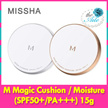 ★Aile81★[Missha] M Magic Cushion (SPF50+/PA+++) 15g /M Magic Cushion Moisture (SPF50+/PA+++) 15g/ Korea cosmetic / #21 /#23/refill/special set(cushion+refill+puff)