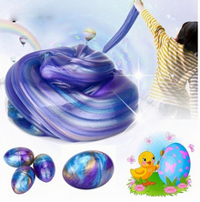 Egg Colorful Soft Slime Slime Scented Stress Relief Toy Sludge Toys (Size: Slime toy, Color: Multico