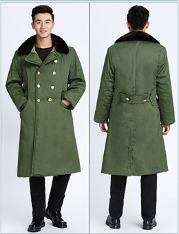 Winter Cold Wear China Army for Cold Room Jacket Coat Costume