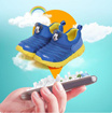 Disney Shoes intelligent positioning shoes running shoes caterpillar shoes Spring