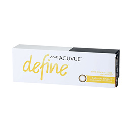 Johnson and Johnson 1-Day Acuvue Define Radiant Bright (30pcs/box) PWR -5.25 ~ -8.00