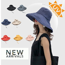 ☀️Japanese Style Women summer reversible Hat☀️ UV Sun Protection Wide Brim Summer