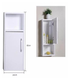 (FREE SHIPPING TO West Malaysia) 2 Cubes with Doors Wall Mounted Storage Shelves