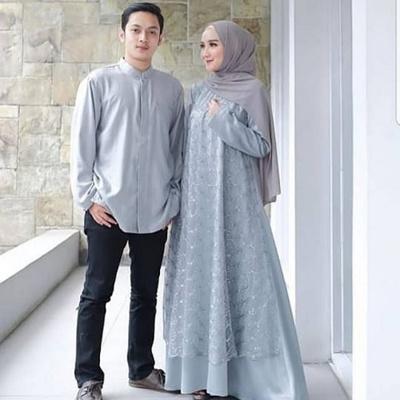Qoo10 Busana Muslim Sadil Couple Muslimah Pakaian