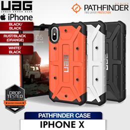 UAG iPhone X Pathfinder Case Black/Silver  Rust/Silver (Orange)  White/Silver