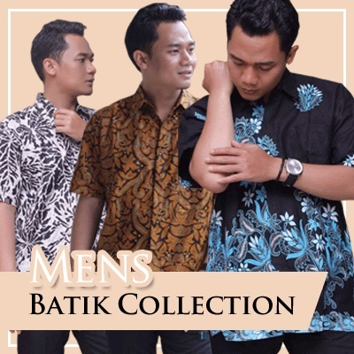 Mens Batik New Collections Deals for only Rp60.000 instead of Rp60.000
