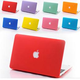 [Cut Logo] Super sale  New Hard matte Case Cover for Macbook Retina 12inch  Macbook Air 11 13 Pro 13 15 Retina 13 15 Protector for 11.6 13.3 15.4 inch