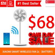💖2019 New model💖[XIAOMI FAN 2s]Xiaomi Smart DC Inverter Fan / Rechargeable Wireless Fan / App Cont