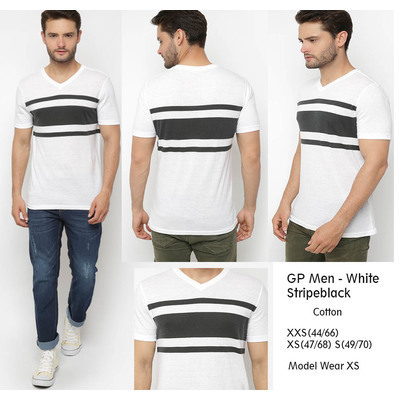 GPMen Chest WhiteBlack