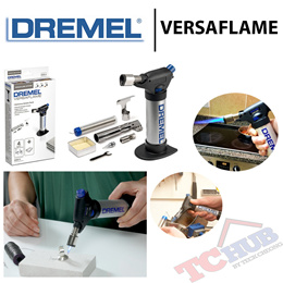 Dremel Versaflame. Designed to make your work around the house and jobsite easier