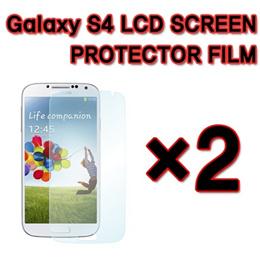 SAMSUNG GALAXY S4 S IV I9500 LCD SCREEN PROTECTOR Film×2