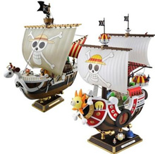 ★Free Shipping★One Piece★Sonny/Melly Assembling model/Comic/Pirates boat/Birthday Gift