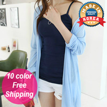 [Dailyn] Korean Style Summer Robe Cardigan 10 color
