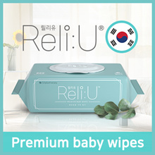 [GREENFINGER] Korea No.1 Brand ReliU Baby Wet Wipes ♥ PREMIUM Quality / Baby Skin / Thick / Moisture