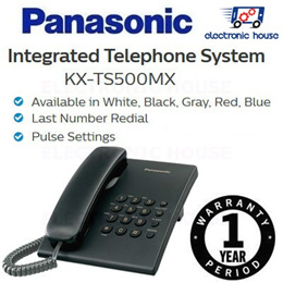 ★ Panasonic KX-TS500MX Integrated Telephone System ★ (1 Year Singapore Warranty)