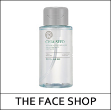 [THE FACE SHOP] THEFACESHOP ★ Chia Seed No Shine Hydrating Water 300ml / Pore Cheansing Toner