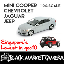 [BMC] Diecast Miniature 1:24 Car Models Chevrolet Jeep Jaguar Mini Cooper| Collection Display Item | Car Enthusiast