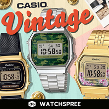 *APPLY 25% OFF COUPON* CASIO VINTAGE STYLE WATCHES SERIES! Free Shipping and 1 Year Warranty.