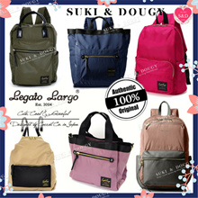 [Buy2FREE Shipping] LEGATO LARGO BEST SELLER anello JAPAN Nylon Backpack/ Totebag / Shoulder bag