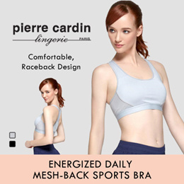 24dc3b1617582 Energized Daily Mesh-back Sports Bra