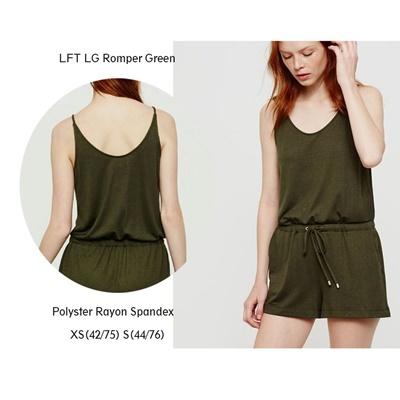 LFT LG Romper Green