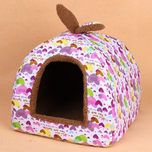 Winter Teddy Yurts Kennel cat Nest washable cat house closed autumn Winter warm pet products
