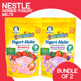 [NESTLÉ GERBER] [Relaunched Special] Yogurt Melts  | [Bundle of 2]
