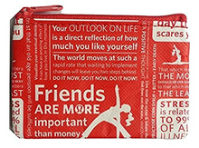 NEW Lululemon Zipper Pouch for Credit Cards ID Lipsticks keys Foundation Money Coin Purse 3