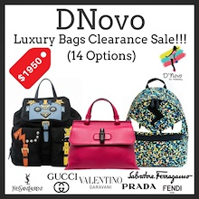 DNovo Luxury Bags Clearance Sale!!!