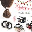 【Christmas Gift】S$0.5+ premium Accessories hair clip hoop hairband earrings sports hair tie curler