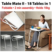 [TV] Table Mate II Fully Adjustable ★ 18 Tables in 1 ★ Foldable / 2 min assembly / Holds up to 10kg