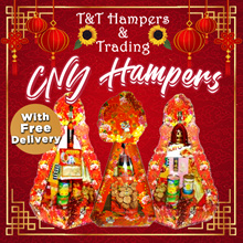 CNY Hampers with Free Delivery! GRAB while it last!