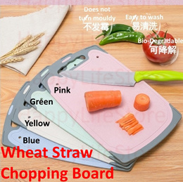 Chopping Board / Wheat Straw / Healthy/Safe / Easy to wash / Non-Slip Surface /Durable / Hygienic