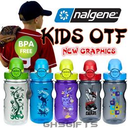Nalgene Water Bottle/OTF KIDS/Kids Bottle/BPA Free/Small water Bottle/375ml/12oz/Original Made in US