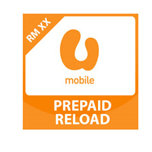 UMobile TOP UP RM50