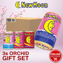 NEW MOON 3s Orchid Giftset (NZ Abalone PC Razor RC) + Free NM Pillow