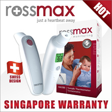 **Buy 1 Get 40%Off BP Monitor!!** 5Yrs Warranty ROSSMAX 2-in-1 Non-Contact Temple Thermometer