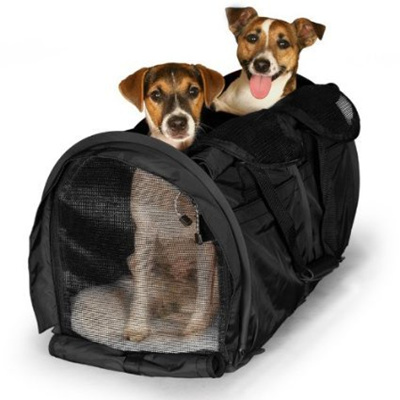 667facef67 Qoo10 - Sturdi Products Bag Double Sided Divided Pet Carrier, Large ...