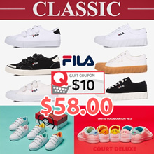 [FILA]♥Get Qoo10 Coupon $10♥Original Classic Kixx B / Kixx G / POKEMON Court Deluxe /  series