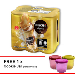 NESCAFE Original RTD 240ml Buy 1 Clusters Free 1 CNY Container