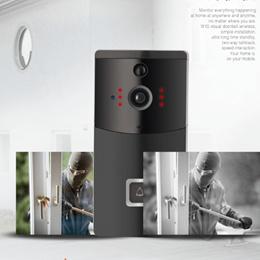Wifi  door bell viewer digital wireless door peephole camera support video record