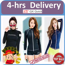 🇸🇬👙4-hrs delivery option👙 Swimsuit - 01 Rash Guard UV Sun Protection UPF50+ Swimming Wear Suit