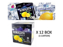 [ Halal ] Himalaya Salt Candy 1Box ~ 12Box ( 1box= 15g * 12pack)