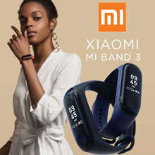 Xiaomi Mi Band 3 (Black) OLED Touch Screen Water Resistant Sports