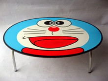 [Meja] Meja Lipat Anak Karakter Lucu Murah Meriah / Meja Laptop / Meja Belajar / Meja Makan